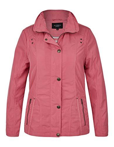 Bexleys Woman by Adler Mode Damen Jacke mit feinen Streifen pink 48