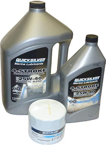 MerCruiser Motoröl Set synthetisch mit Ölfilter 35-866340Q03