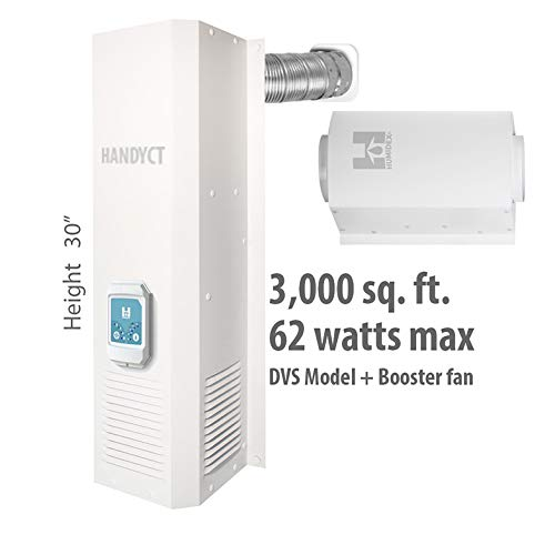 Best Prices! HandyCT Crawlspace dehumidifier and Extractor- DVS-CE Digital Ventilation System Crawlp...
