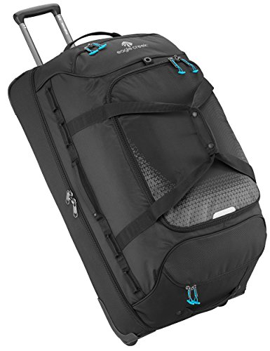 Eagle Creek Expanse Drop Bottom Wheeled Duffel Bag, 32-Inch, Black