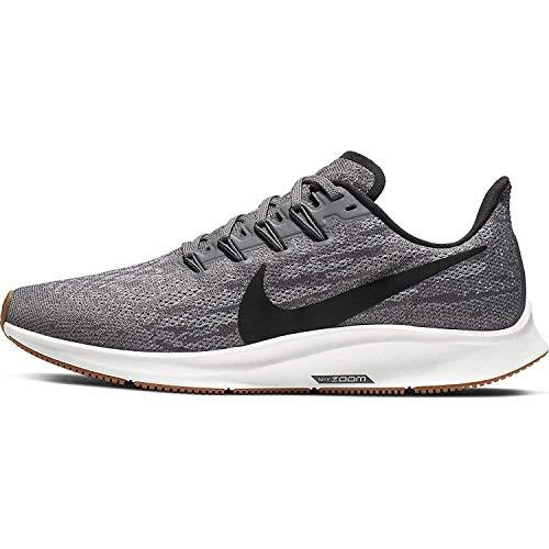 Nike Womens Zoom Pegasus 36 Fitness Running Shoes Gray 11 Medium (B,M)