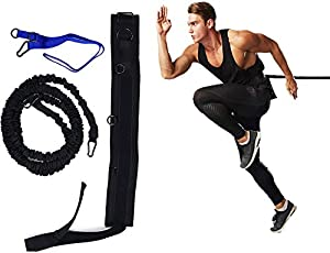 Feishibang Flexible Sport Training Bungee Resistance Speed Band, Basketball and Football All Sports Exercise Equipment Improve Speed, Strengthen Jump Higher Moveable Quickly Training by Guang Dong Shi Zhi Jian Ti Yu Yong Pin You Xian Gong Si