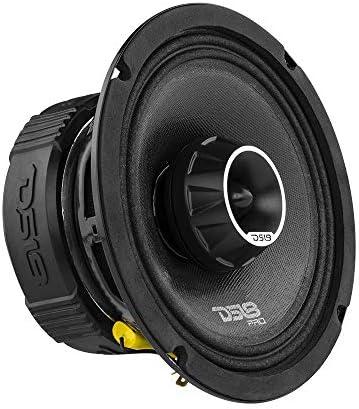 DS18 PRO ZT6 6 5 Inch 2 Way Pro Audio Midrange Speakers with Built in Bullet Tweeter 4 Ohms product image