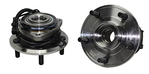 Detroit Axle 513272 wheel hub assembly front kit for Jeep Wrangler 2007 2008 2009 2010 2011 2014 2013 2014 2015 2016 With-ABS