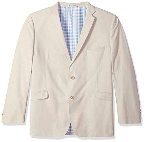 U.S. Polo Assn. Men's Big and Tall Sport Coat, tan Chambray, 50 Regular