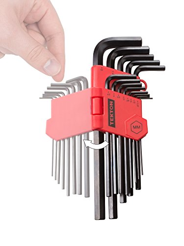 TEKTON Hex Key Wrench Set, 13-Piece (1.27-10 mm) | 25242