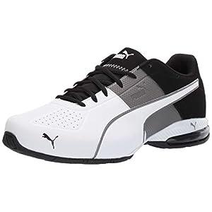 PUMA mens Cell Surin 2 Sneaker, Charcoal Gray-puma White, 11 US