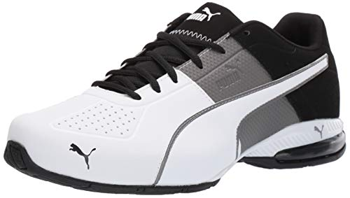 PUMA mens Cell Surin 2 Sneaker, Charcoal Gray-puma White, 9.5 US