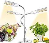 BAIJJ 65W Vollspektrum-Wachstumslampe, LED-Wachstumslicht für Zimmerpflanzen, 5 dimmbare Stufen, 3 Modi, für Zimmer-Zimmerpflanzengewächshaus