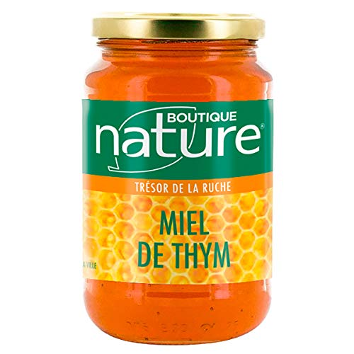 Boutique Nature - Miel de Thym Format Eco - Pot de 500 g