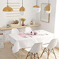 北欧 テーブルクロス テーブルカバー, 防水防油 撥水 厚手 (色 : D, サイズ さいず : 110*140cm)