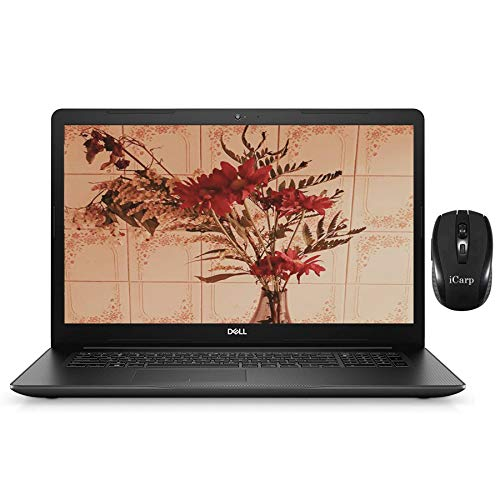 Flagship Dell Inspiron 17 3000 3793 Laptop Computer 17.3' FHD Display 10th Gen Intel Quad-Core i5-1035G1 (Beats i7-8550U) 16GB DDR4 1TB SSD Webcam WiFi DVD Win 10 Pro + iCarp Wireless Mouse