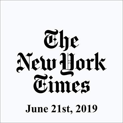 June 21, 2019 audiobook cover art
