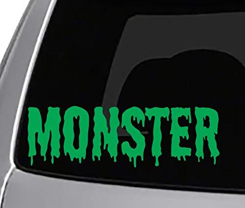 Seek Monster Dripping Word Decal CAR Truck Window Sticker Cool Bad Ass