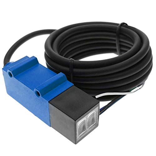 BeMatik - Reflex-Lichtschranke Photoschalter Foto Elektrische Sensor NPN NO+NC 10-30VDC 2m