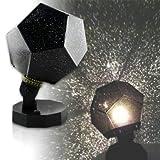 GIVBRO Sternprojektor-Licht, Nachthimmel-Lampe, romantische DIY-Projektion Sternenhimmel, Projektion Konstellationen, Beobachtungsgerät, Planetarium, Stern, Projektor-Stil, zufällig