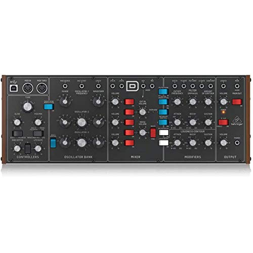 Learn More About Behringer MODEL D Eurorack-sized Analog Monosynth Module with Microfiber and 1 Year...