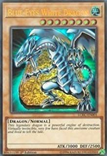 Blue-Eyes White Dragon (Version 4) - LCKC-EN001 - Ultra Rare - 1st Edition - Legendary Collection Kaiba Mega Pack (1st Edition)