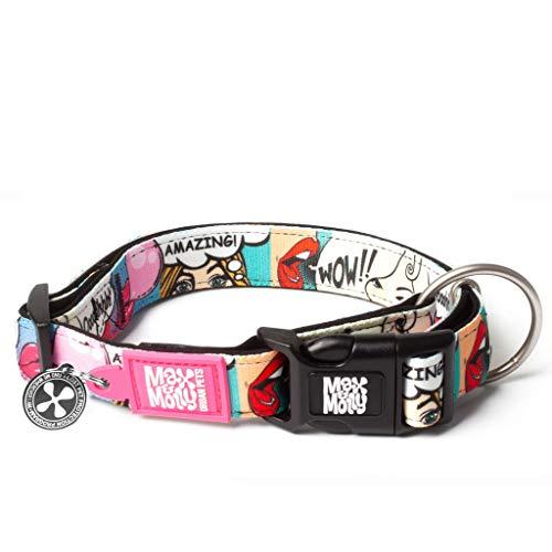 Max & Molly Urban Pets Smart ID Collar - Missy Pop - M