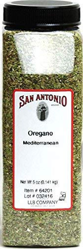 5 Ounce Restaurant Whole Dried and Cut Natural Mediterranean Oregano Leaf, Herbal Tea Leaves, Herb Seasoning Spice