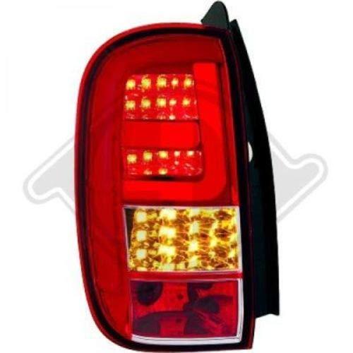 in. pro. 4560996 haute définition Lampes arrière Lightbar, rouge/blanc/transparent