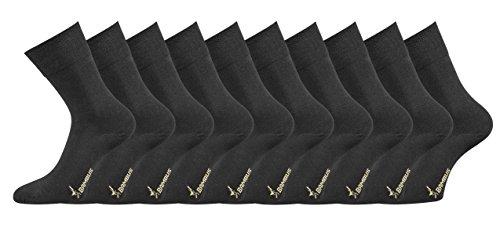 TippTexx24 Die etwas anderen Business, 2, 4, 6, 8, 10 oder 12 Paar (43/46, Schwarz = 10 Paar)