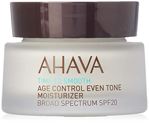 AHAVA Time To Smooth Humectante Antiedad Y Anti Manchas (SPF 20) - 50 ml.