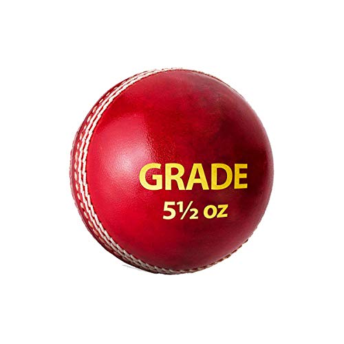 DSC 1500308 Grade Leather Cricket Ball (Red)