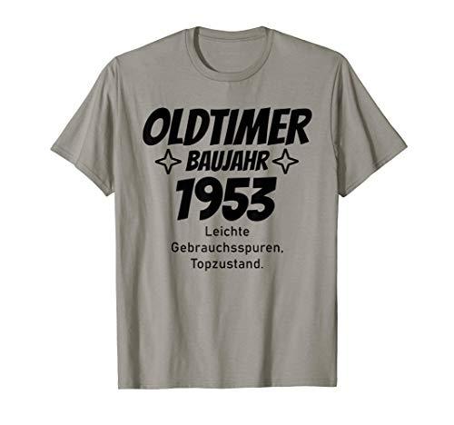 Oldtimer Baujahr 1953 T-Shirt Geschenk 66. Geburtstag lustig