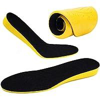 ZusFut Plantillas Elevadoras 2 cms Alzas para Zapatos Plantillas Aumento Altura Hombre Mujer (35/41 EU)