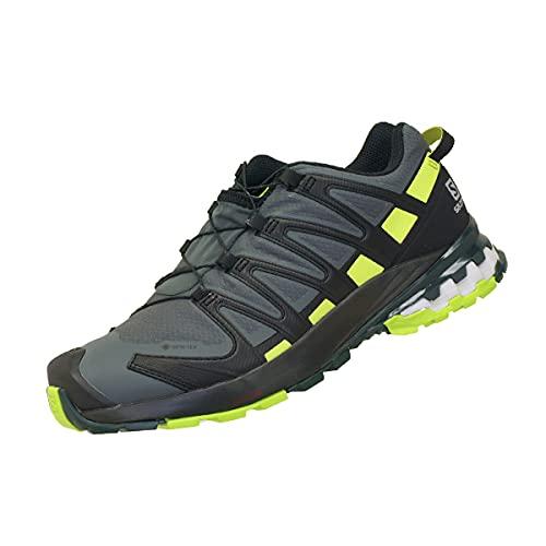 SALOMON Speedcross 4 GTX, Scarpe da Trail Running Uomo, Grigio (Urban Chic/Black/Lime Punch), 40 2/3 EU