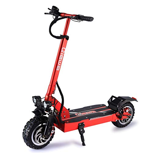 QIEWA Q-Power Double Motors Style Electric Scooter |60Volts+26AH Battery |Max Speed 56MPH |Travel...