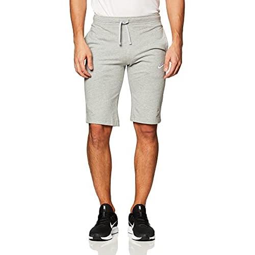 Nike M Nsw Jsy Club, Pantaloncini Uomo, Grigio/Bianco, S