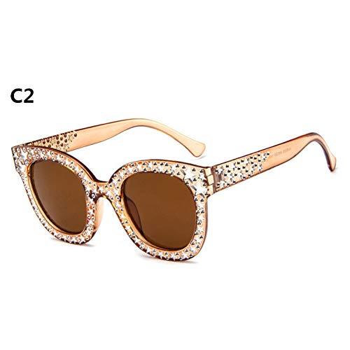 Taiyangcheng Mode Cateye Sonnenbrillen Frauen Eyewear Sonnenbrille Fahren Hohl Shades Weiblichen Rahmen Gläser