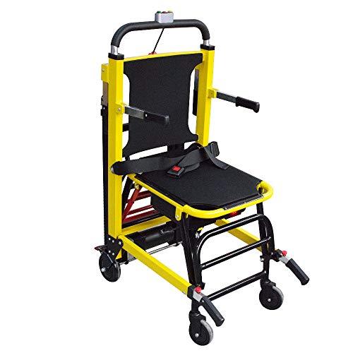 Evakuierung Treppenstuhl, ältere Treppe Hebestuhl Treppensteig Assistent Stuhl Motorisierter Kletterrollstuhl