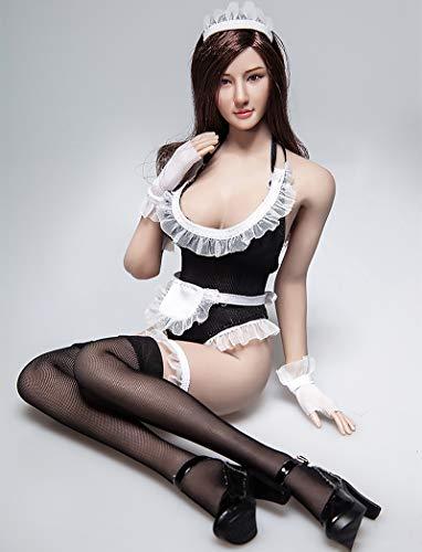 HiPlay 1/6 女性 フィギュア ドール 用 メイド服 セット 衣装 TBLeagueに対応 DC073 (B)