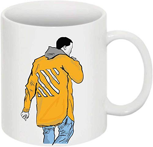Not Applicable Kanye Yeezy en Off White 11 0Z Taza de cerámica Blanca