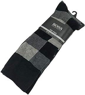 Gemelolandia, Twopack Hugo Boss RS Design Calcetines Lines Tonos Grises y Negros 43-46
