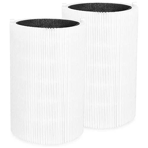 XIAN 2 confezioni di filtri di ricambio blu Pure 411 per Blue Pure 411, 411+ e Air Cleaner (2St)