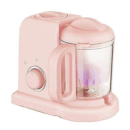 5-in-1-Dampfgarer und Mixer für Babynahrung, Dampfgarer Defroster Hitze Desinfektion Multifunktions-Küchenmaschine