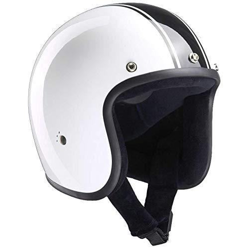 Casco para motocicleta Classic Jet de la marca Bandit, diseño liviano y cómodo