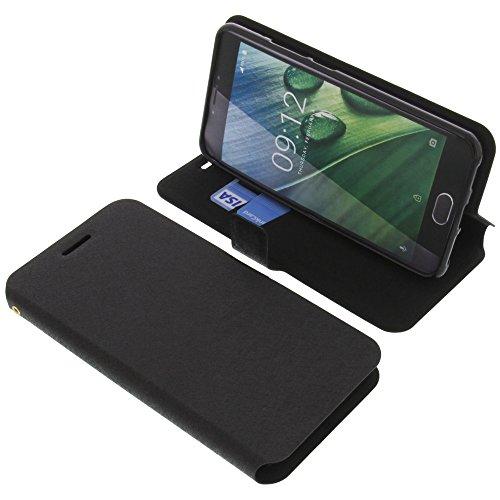 foto-kontor Tasche für Acer Liquid Z6 Plus Book Style schwarz Schutz Hülle Buch