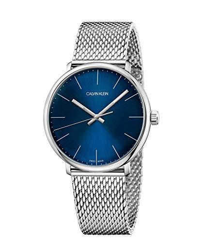 Calvin Klein Reloj Analógico-Digital para Unisex Adultos de Cuarzo con Correa en Acero Inoxidable K8M2112N