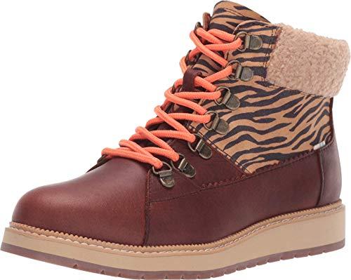 TOMS - Womens Mesa Boots, 5.5 UK, Wp Dark BRN/Zeb NYL