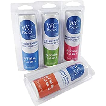 WC Pocket papel higiénico Nomade: Amazon.es: Salud y cuidado personal