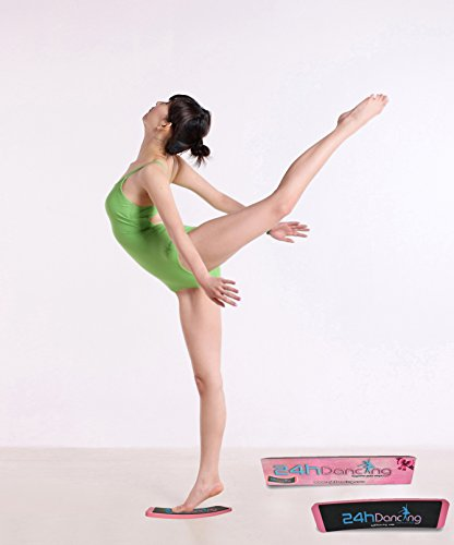 24hDancing - Ballet Turn Board For Dancers, Studio Equipment, Practice and Improve Steps, Spin, Form, Pirouette, Releve and Balance, Gift Professional/Student Ballerina,spin boards