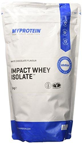 MyProtein Impact Whey Isolate Siero di Latte - Prodotto da 1000 gr