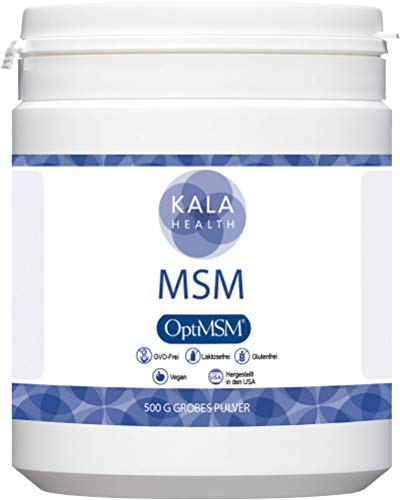 Kala Health - OptiMSM® Mehrstufige Destillation (Methylsulfonylmethan) grobes Pulver (