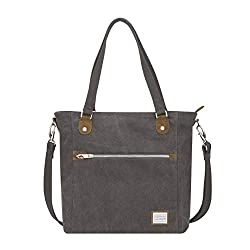 07166a4c467c9 This Travelon tote bag is a great choice for a personal item bag because at  13.5″ x 13.5″ x 5″ (34 x 34 x 13 cm) it will easily fit all airline ...