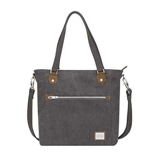 Travelon Anti-Theft Heritage Tote Bag, Pewter, One Size
